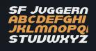 SF Juggernaut Italic