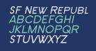 SF New Republic SC Italic
