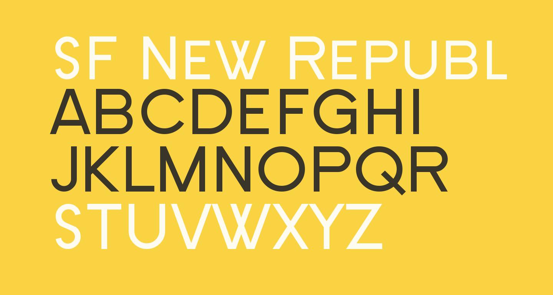 SF New Republic SC