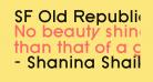SF Old Republic Bold