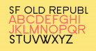 SF Old Republic SC