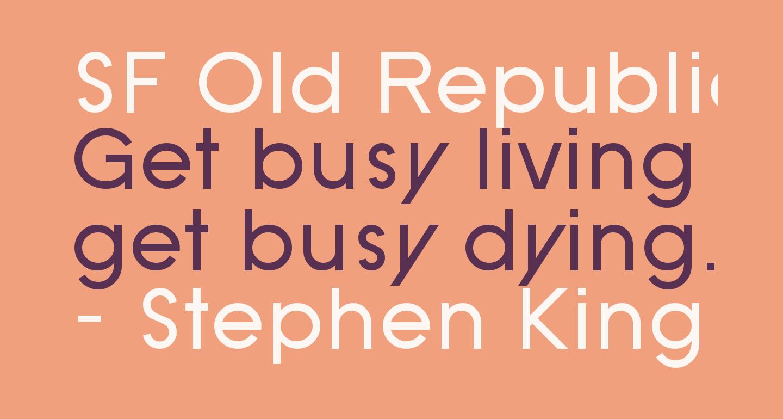 SF Old Republic