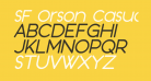 SF Orson Casual Medium Oblique