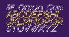 SF Orson Casual Shaded Oblique
