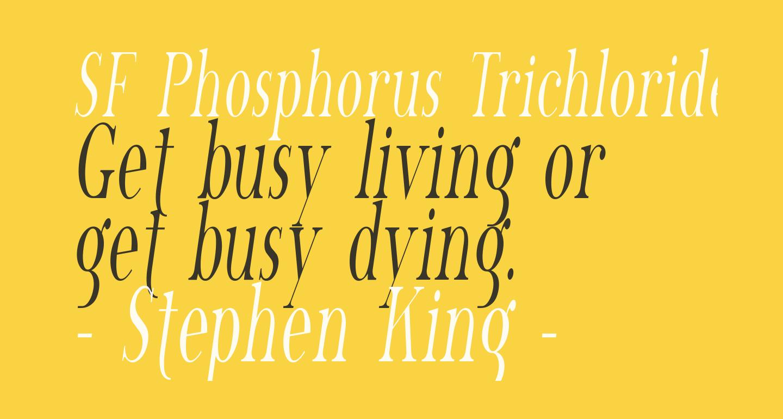 SF Phosphorus Trichloride