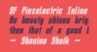 SF Piezolectric Inline Oblique