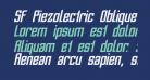 SF Piezolectric Oblique