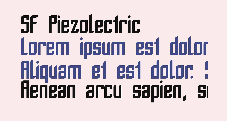 SF Piezolectric