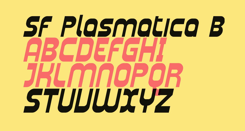 SF Plasmatica Bold Italic
