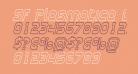 SF Plasmatica Outline Italic