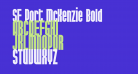 SF Port McKenzie Bold