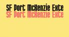 SF Port McKenzie Extended Bold
