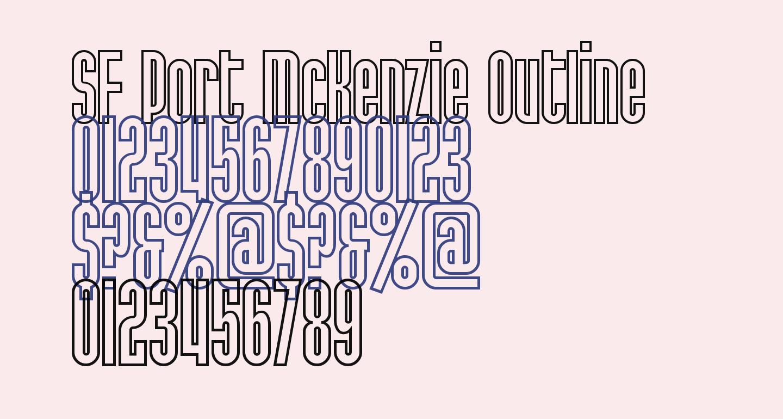 SF Port McKenzie Outline