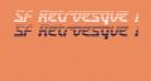 SF Retroesque FX Oblique