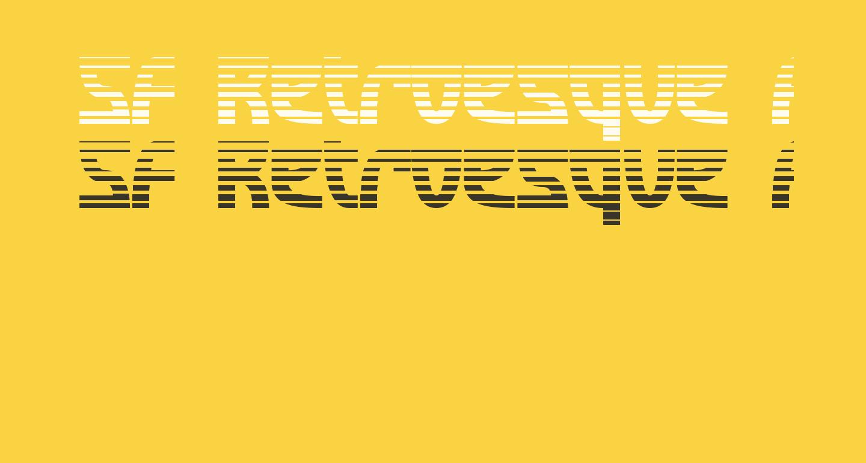 SF Retroesque FX