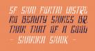 SF Shai Fontai Distressed Oblique