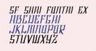 SF Shai Fontai Extended Oblique