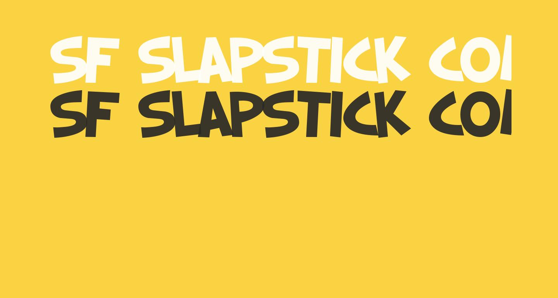 SF Slapstick Comic Bold