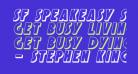 SF Speakeasy Shaded Oblique
