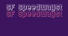 SF Speedwaystar Shaded