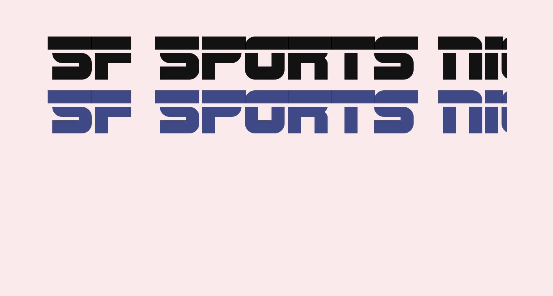 SF Sports Night AltUpright