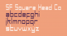 SF Square Head Condensed