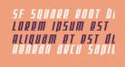 SF Square Root Bold Oblique