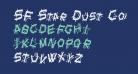 SF Star Dust Condensed Italic