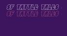 SF Tattle Tales Outline Italic