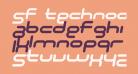 SF Technodelight NS Bold Italic