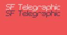 SF Telegraphic Italic