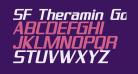SF Theramin Gothic Bold Oblique