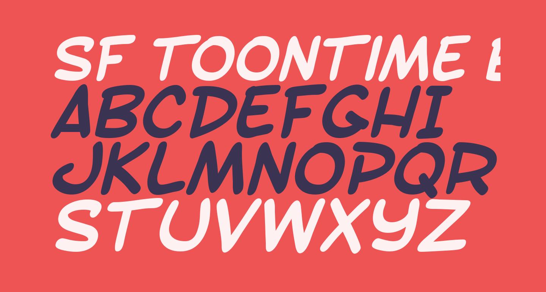 SF Toontime Bold Italic