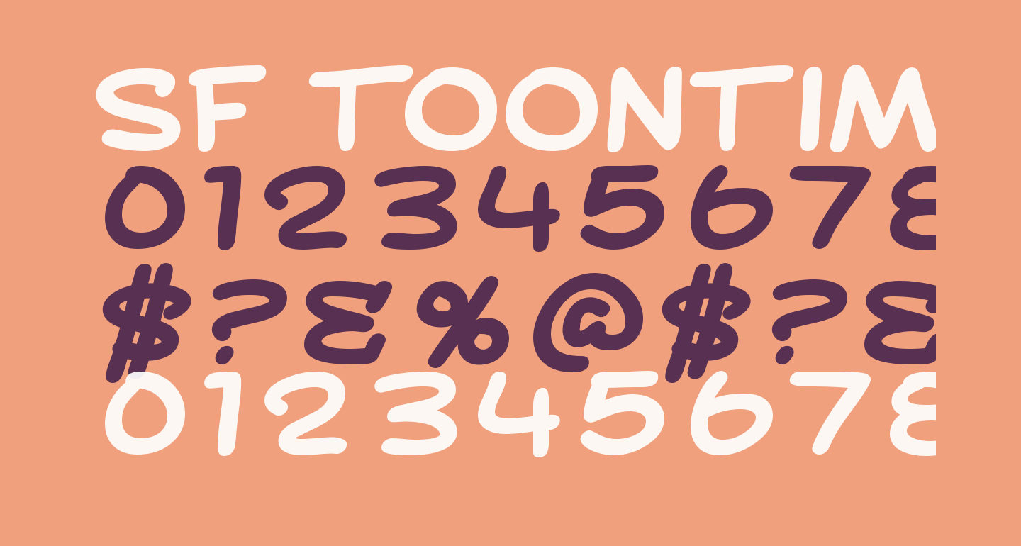 SF Toontime Extended Bold