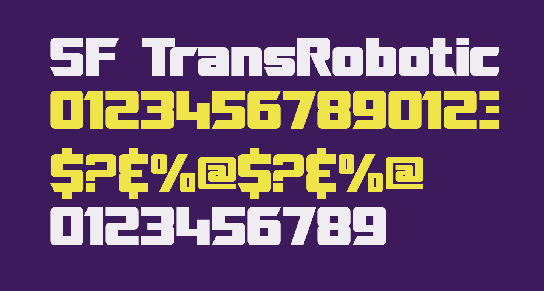 SF TransRobotics Bold