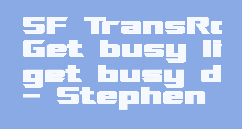 SF TransRobotics Extended Bold