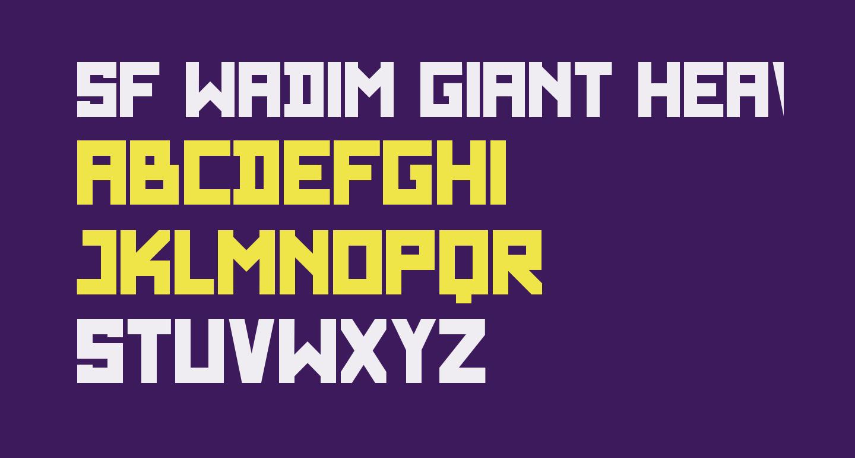 SF WADIM GIANT Heavy
