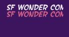SF Wonder Comic Bold Italic