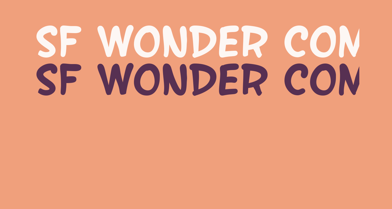 SF Wonder Comic Bold