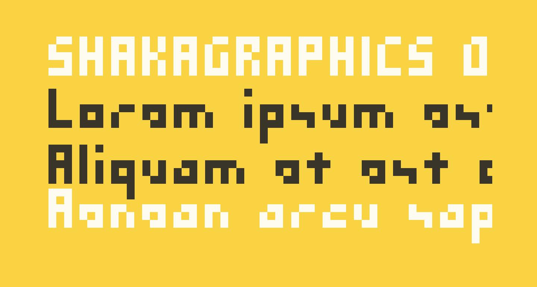 SHAKAGRAPHICS 03