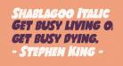 Shablagoo Italic