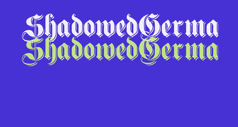 ShadowedGermanica