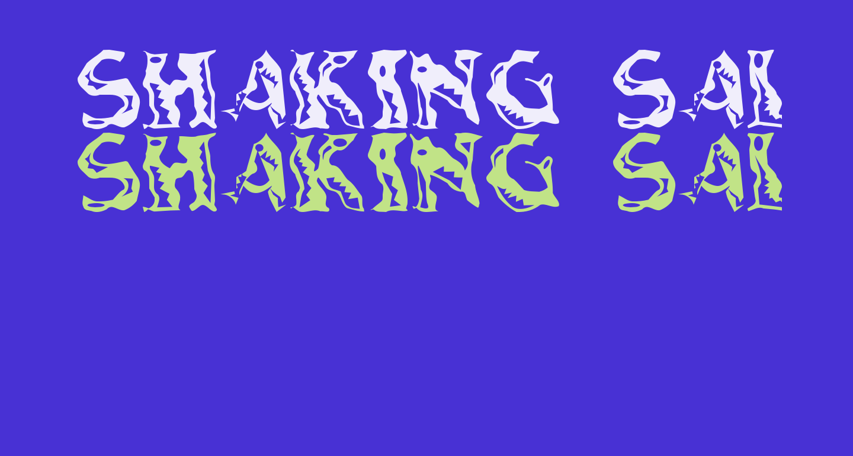 Shaking Salsa