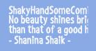 ShakyHandSomeComic-Bold