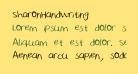 SharonHandwriting