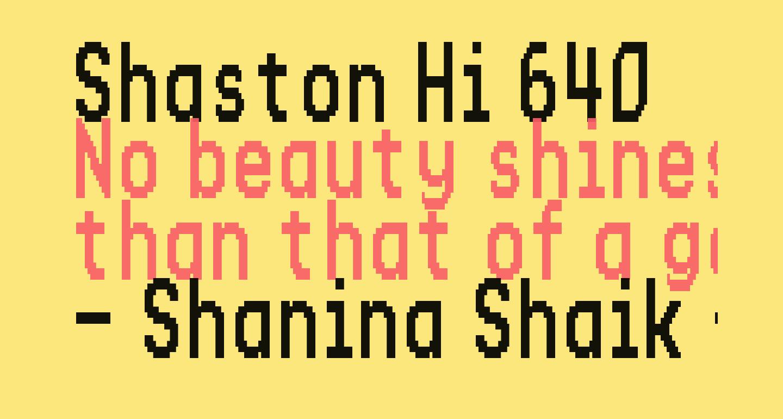 Shaston Hi 640