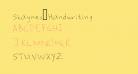 Shaynes_Handwriting
