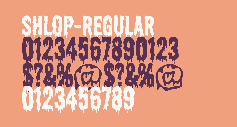 Shlop-Regular