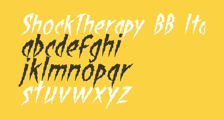 ShockTherapy BB Italic
