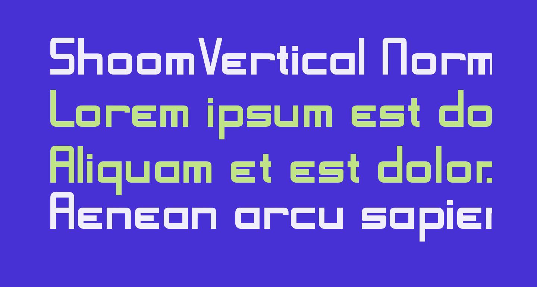 ShoomVertical Normal